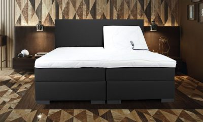 Boxspring luxury elektrische geneve setting