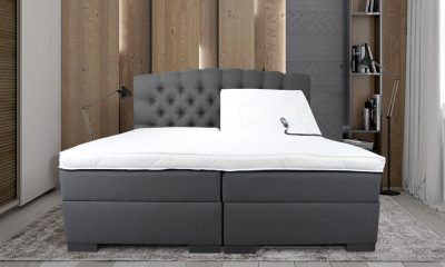 Boxspring Luxury elektrische Valencia setting antraciet