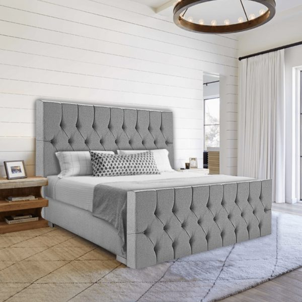 Boxspring Luxury Barones in de slaapkamer